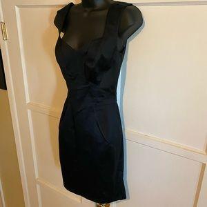 NWT!! Zac Posen size 4 black cocktail dress